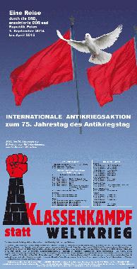 75. Jahrestag des Antikriegstag