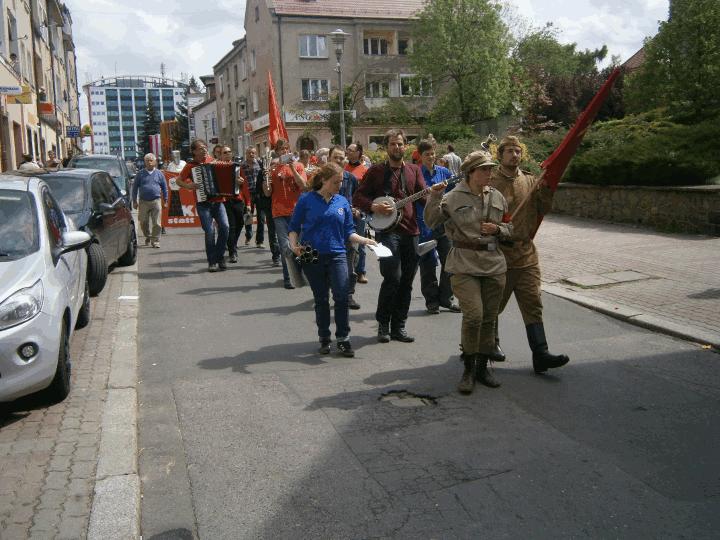 Demonstration Zielona Gora