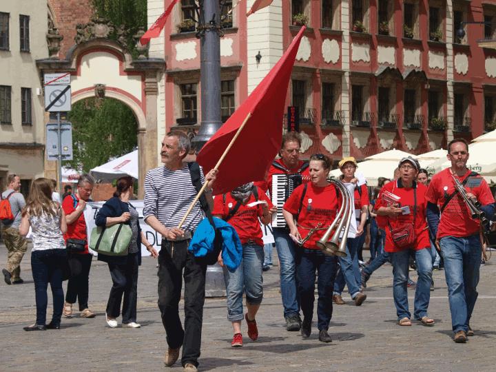 Demonstration Wroclaw