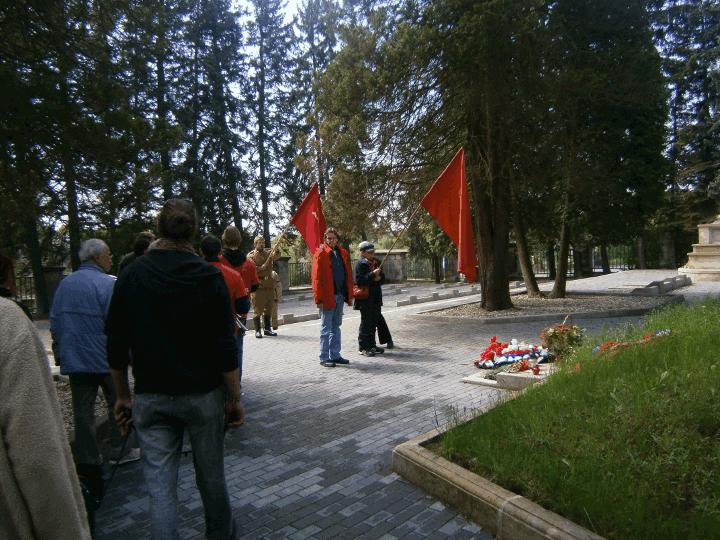 Grab- und Gedenkstätte für  die gefallenen Soldaten der Roten Armee bei Bolesławiec