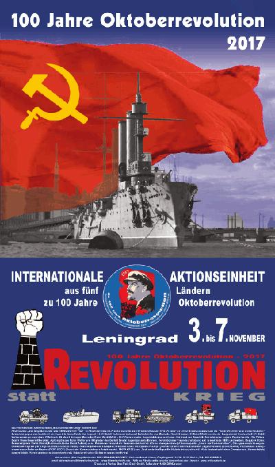 100 Jahre Oktoberrevolution 2017