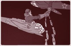 Bomber über Potsdam