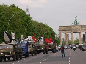 Zu vor dem Brandenburger Tor