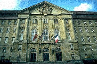 Sitz des Aliierten Kontrollrats