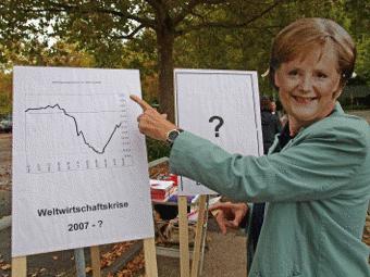 Merkel erklärt die Krise