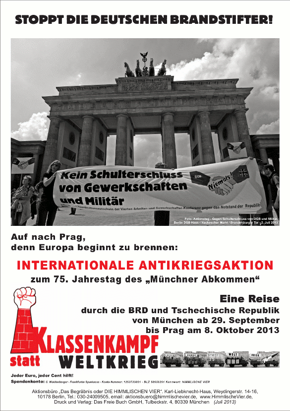 Internationale Antikriegsaktion