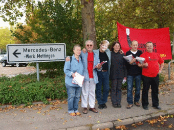Die Verteiler in Mettingen