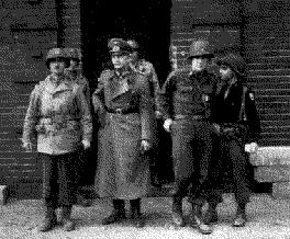 Verhaftung des Nazikommandanten