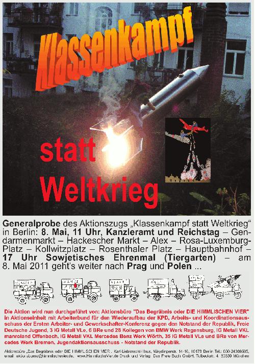 Plakat April/Mai 2010