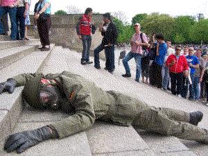 Reichstag-Besucherschlange