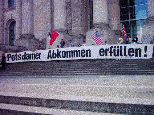 Potsdamer Abkommen erfuellen!